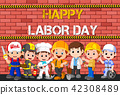 Labor day with people occupation difference 42308489
