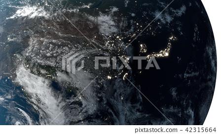 地球儀 土地 土 42315664
