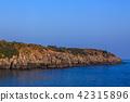 섬, 바다, 황혼 42315896