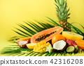 tropical fruit food 42316208