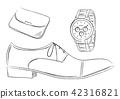 男士商务项目鞋手表插图 42316821