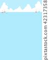 바다, 요트, 구름 42317358
