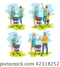vector, barbeque, bbq 42318252