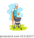 vector, barbeque, bbq 42318257