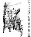 Street in Japan 42320944
