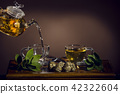 tea service of glass 42322604