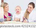 baby, mother, doctor 42324132