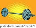 weight barbell vector 42326471