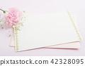 메시지 카드와 꽃 42328095