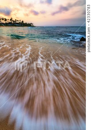 Kauai Hawaii Sunset at the Beach 42330783