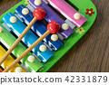 Musical instrument xylophone.  42331879
