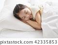 잠,휴식,소녀,한국인 42335853
