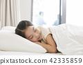 잠,휴식,소녀,한국인 42335859