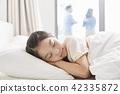 잠,휴식,소녀,한국인 42335872