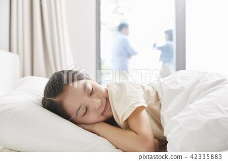 잠,휴식,소녀,한국인 42335883