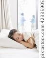 잠,휴식,소녀,한국인 42335905