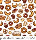 bread pastry pattern 42336651