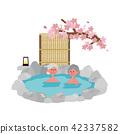 资深温泉例证春天樱桃 42337582