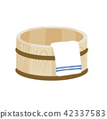 bucket, tub, illustration 42337583