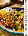 摩洛哥沙拉中东蔬菜沙拉地中海风格摩洛哥美食 42341470