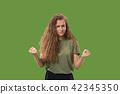 female, woman, portrait 42345350