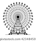 Ferris wheel 42348450