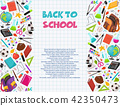 back to school composition 42350473