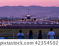 Take off from Itami Airport (Osaka International Airport) Chisato River 42354502