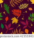 树叶 样式 模式 42355943