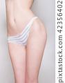 腰部腰部V線內褲收腹身體線臀部泳衣腰身線 42356402