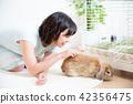宠物女性生活方式 42356475