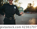 cop, policeman, male 42361707