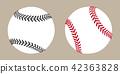 vector, ball, baseball 42363828