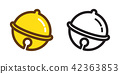 Bell vector christmas icon logo cartoon 42363853