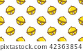 Bells seamless Christmas pattern vector Gold 42363854
