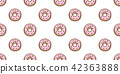 Donuts Seamless Pattern vector cake isolated 42363888