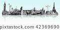 Famous landmarks of the world 42369690