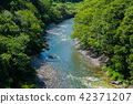 ล่องแก่ง,แม่น้ำ,ฤดูร้อน 42371207