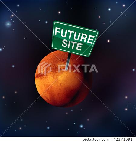 Life On Mars Concept 42371991