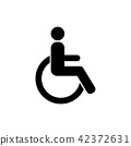 disabled vector 42372631