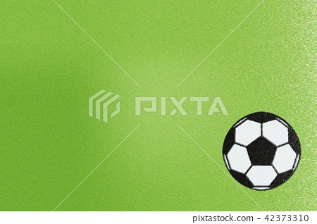 Green flannel or soccer ball fabric, abstract 42373310