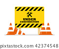 Under Construction Sign 42374548