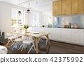 modern kitchen interior. 42375992