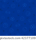 Sport theme seamless pattern background 42377109