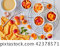 apricot, clafoutis, dessert 42378571