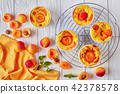 apricot, clafoutis, dessert 42378578