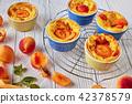 apricot, clafoutis, dessert 42378579