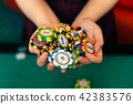 賭場籌碼 42383576