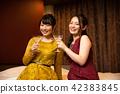 러브 호텔 여자 회 호텔 파티 42383845