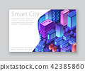 Template business card 42385860